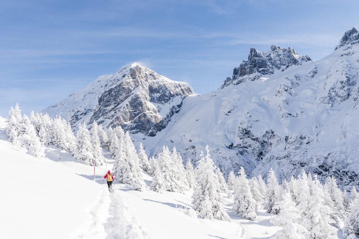 Schneeschuhwandern in Engelberg
