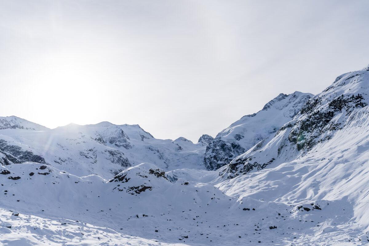 Morteratschgletscher Winter