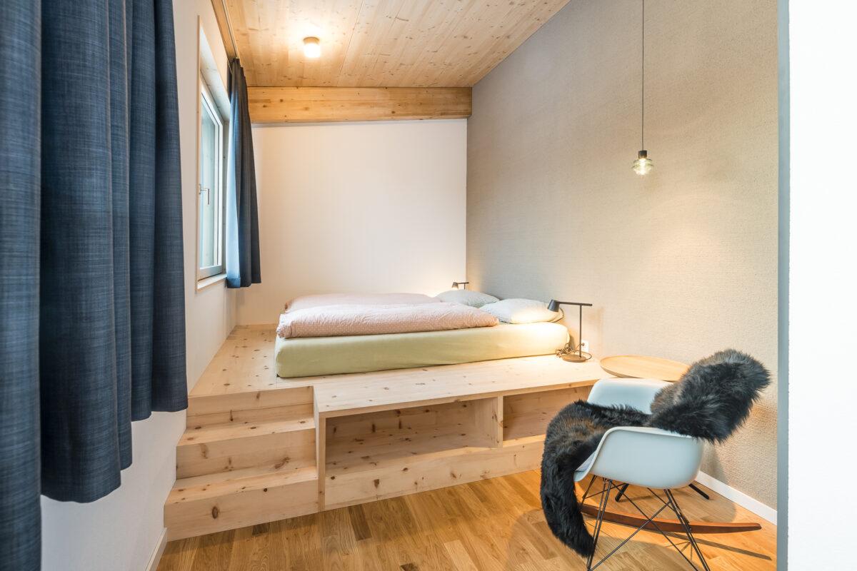 Doppelzimmer Wellnesshostel Laax