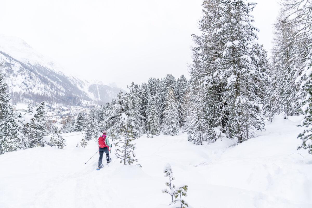 Schneeschuhtrail Pontresina
