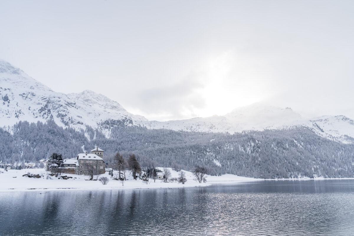 Winterwanderwege Surlej Silvaplana