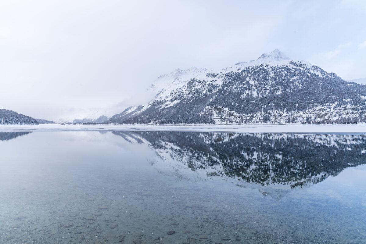 Silvaplanersee Winter