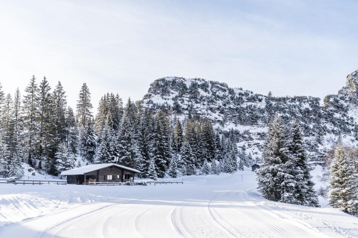 Winterwanderung Bargis