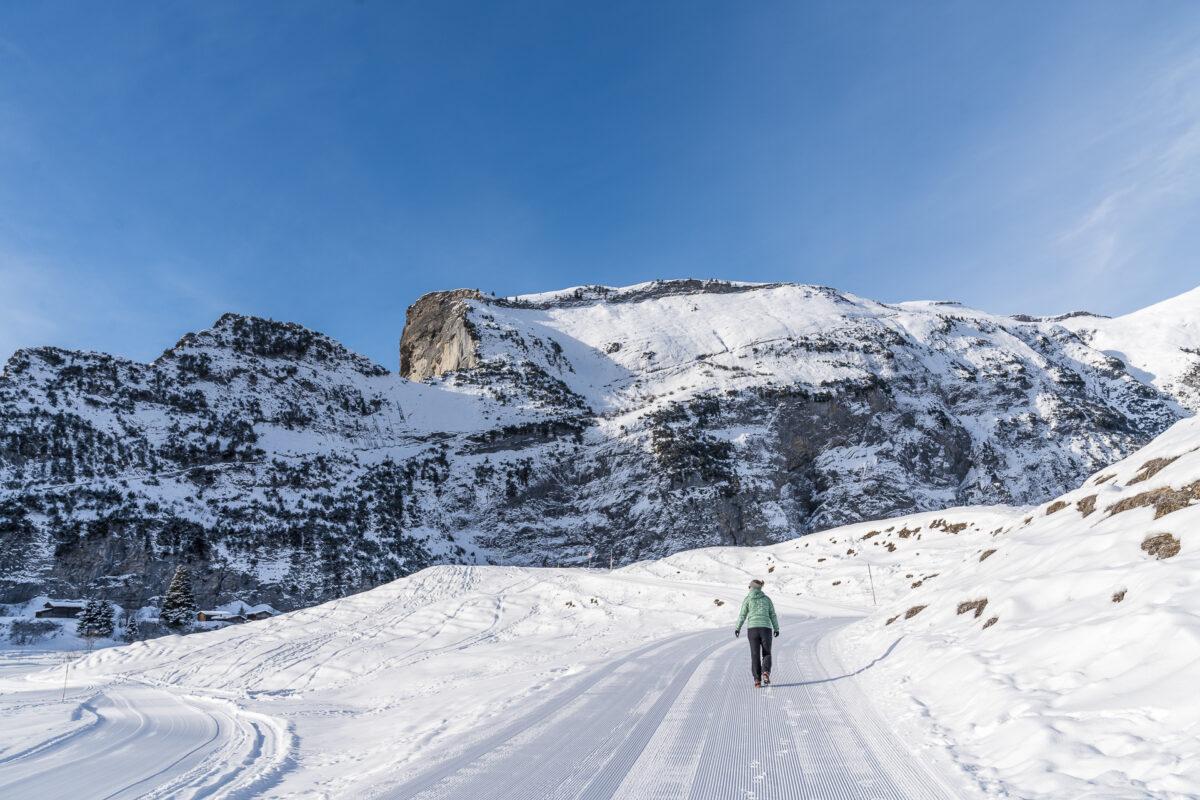 Winterwandern Bargis