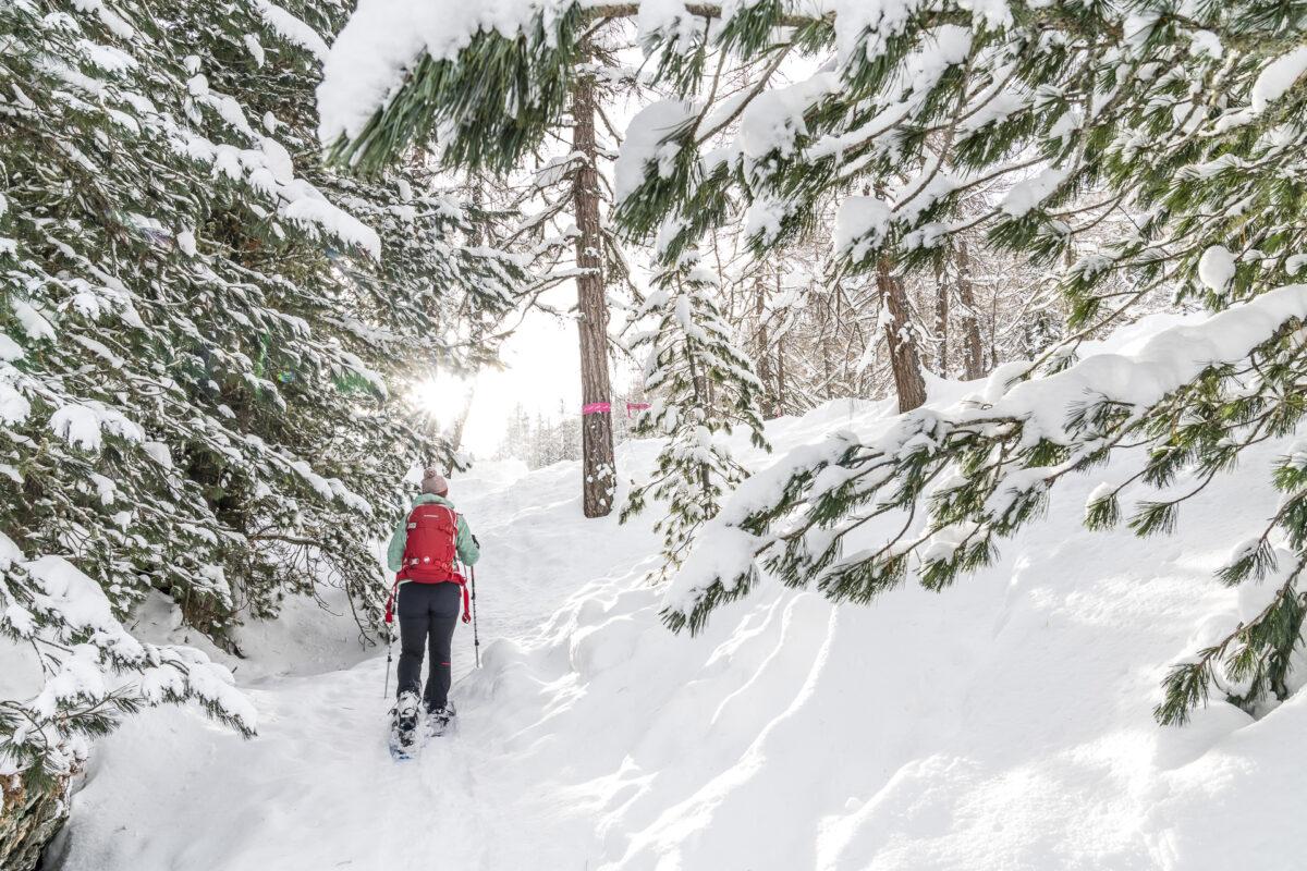 Schneeschuhtrail Muotta da Güvè