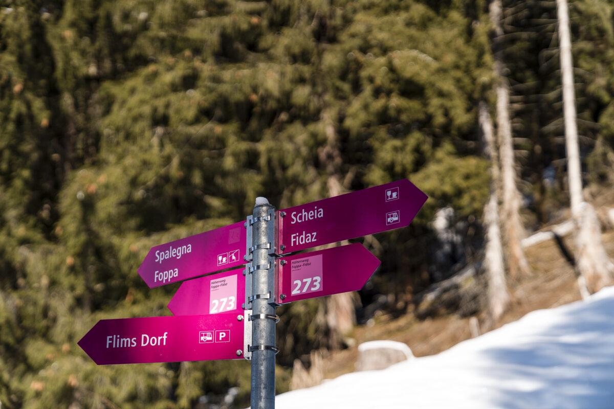 Winterwanderwege Flims