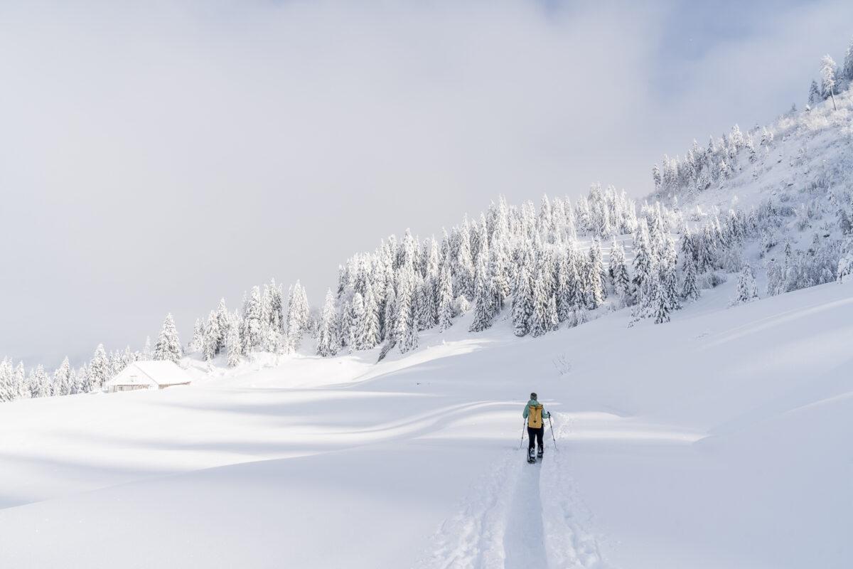 Schneeschuhwandern Rothenturm