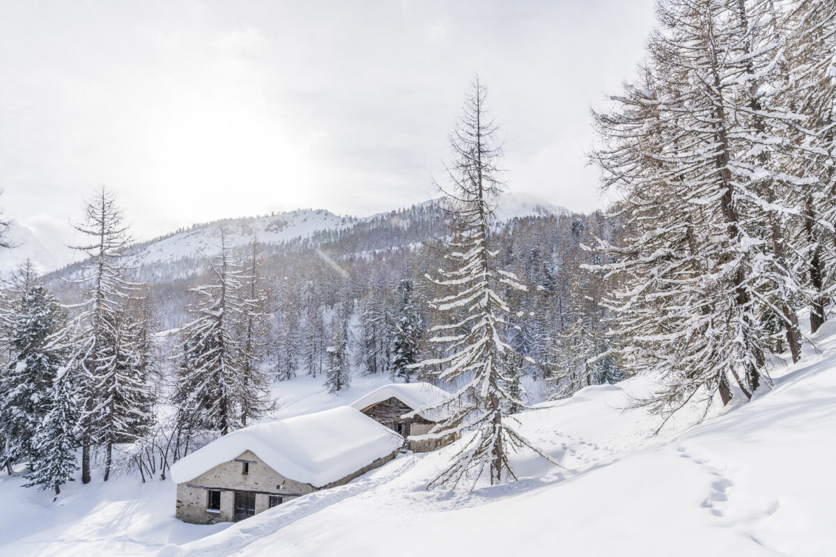 Winterlandschaft Fextal