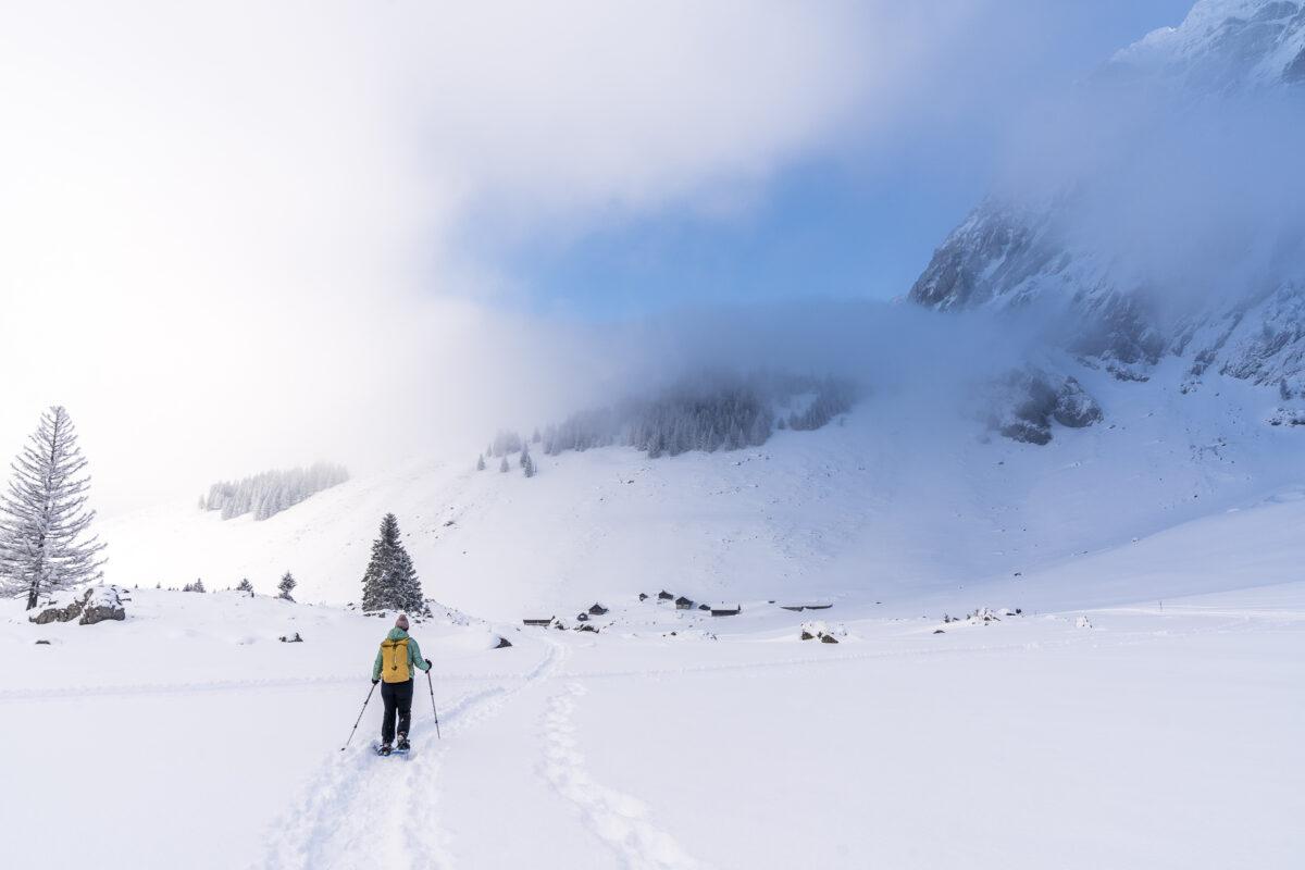 Schwägalp Schneeschuhwandern