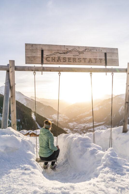 Berghotel Chäserstatt Ausblick