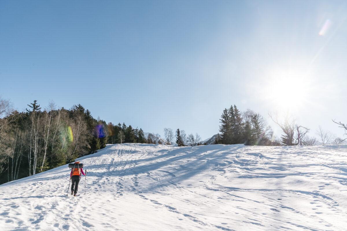Schneeschuhtour Ausserbinn nach Ernen