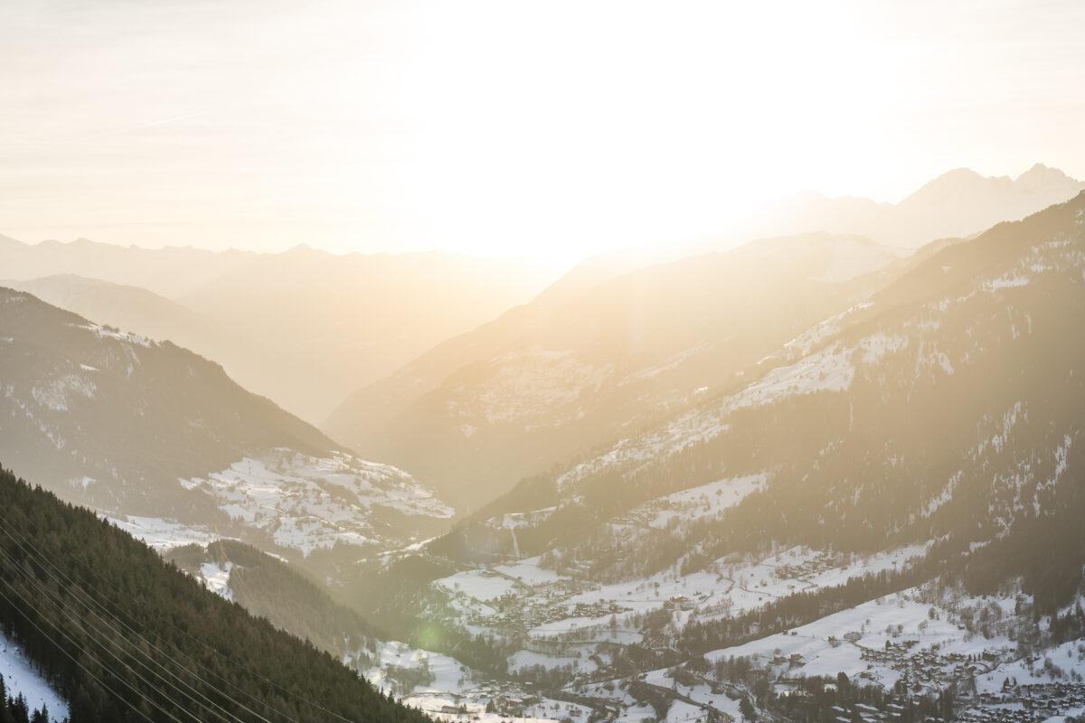Sonnenuntergang Oberwallis
