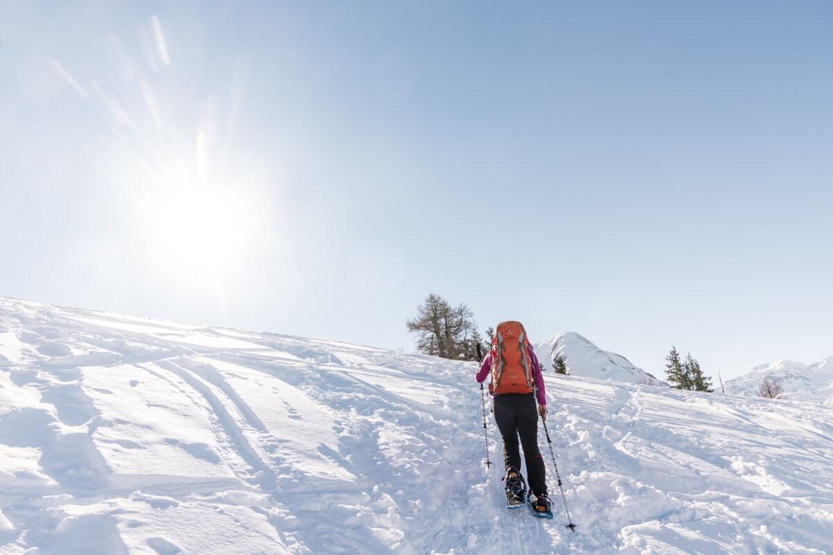 Schneeschuhtour Goms Binntal