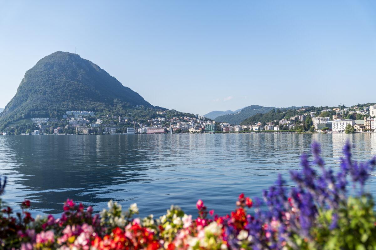 Lugano Uferpromenade