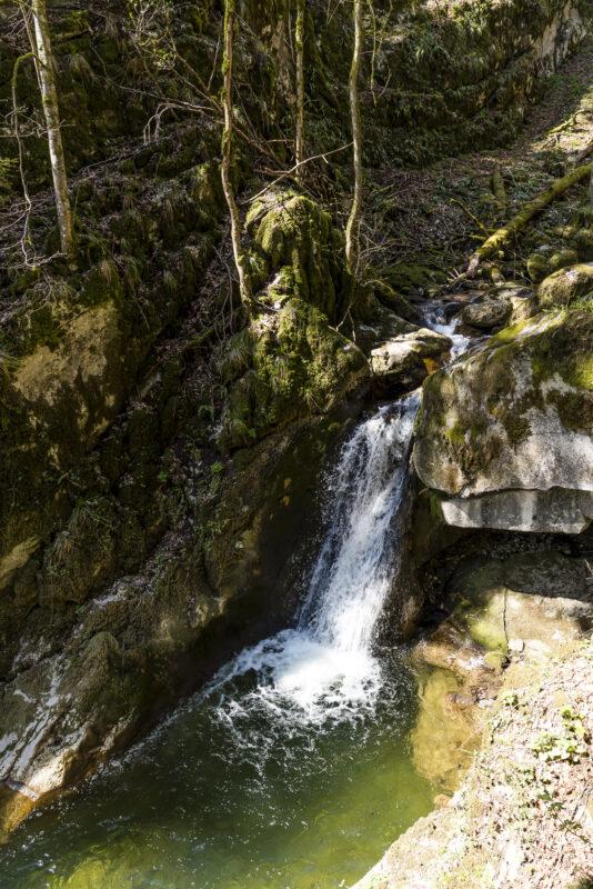 Wasserfall Twannbachschlucht