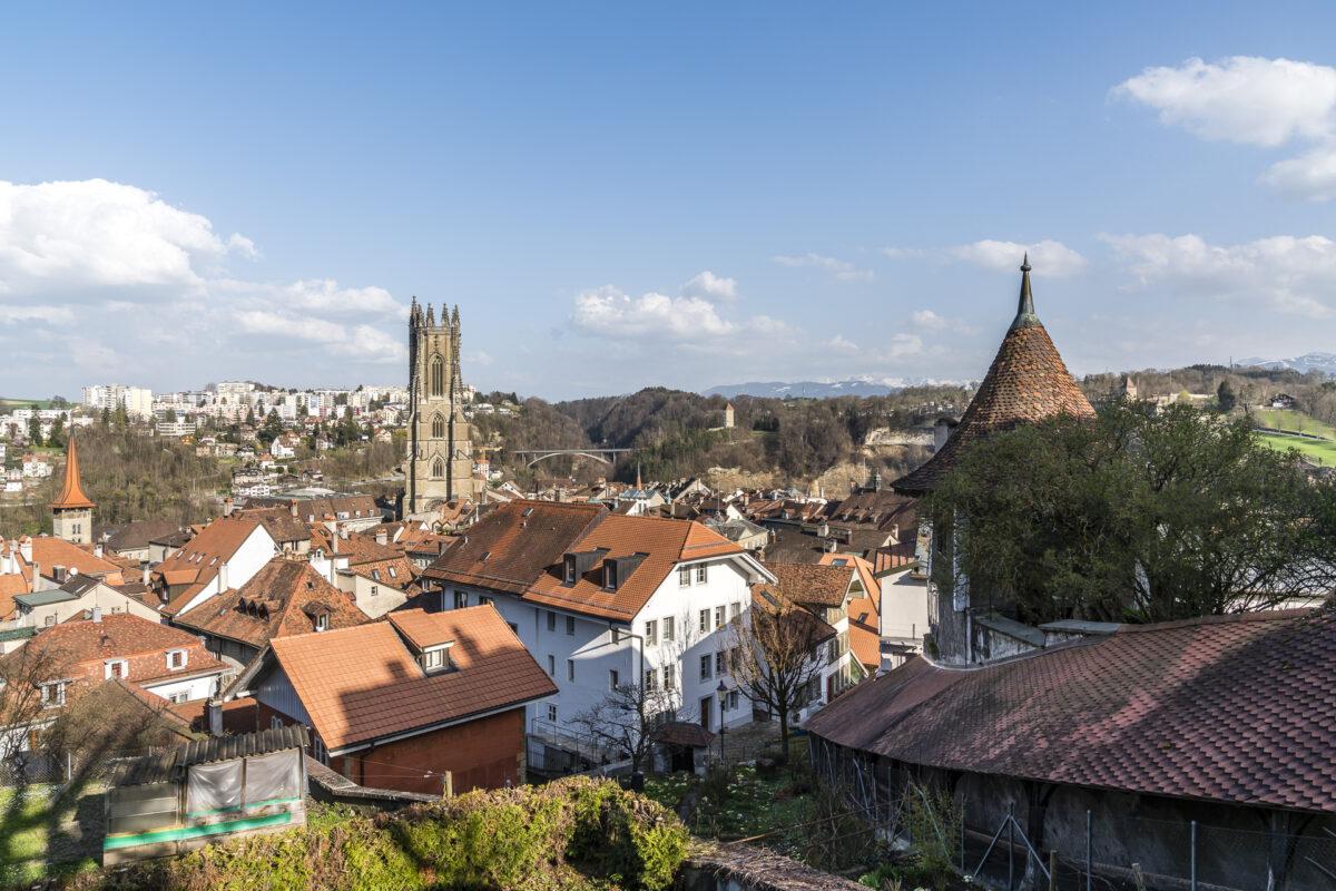 Fribourg Aussicht