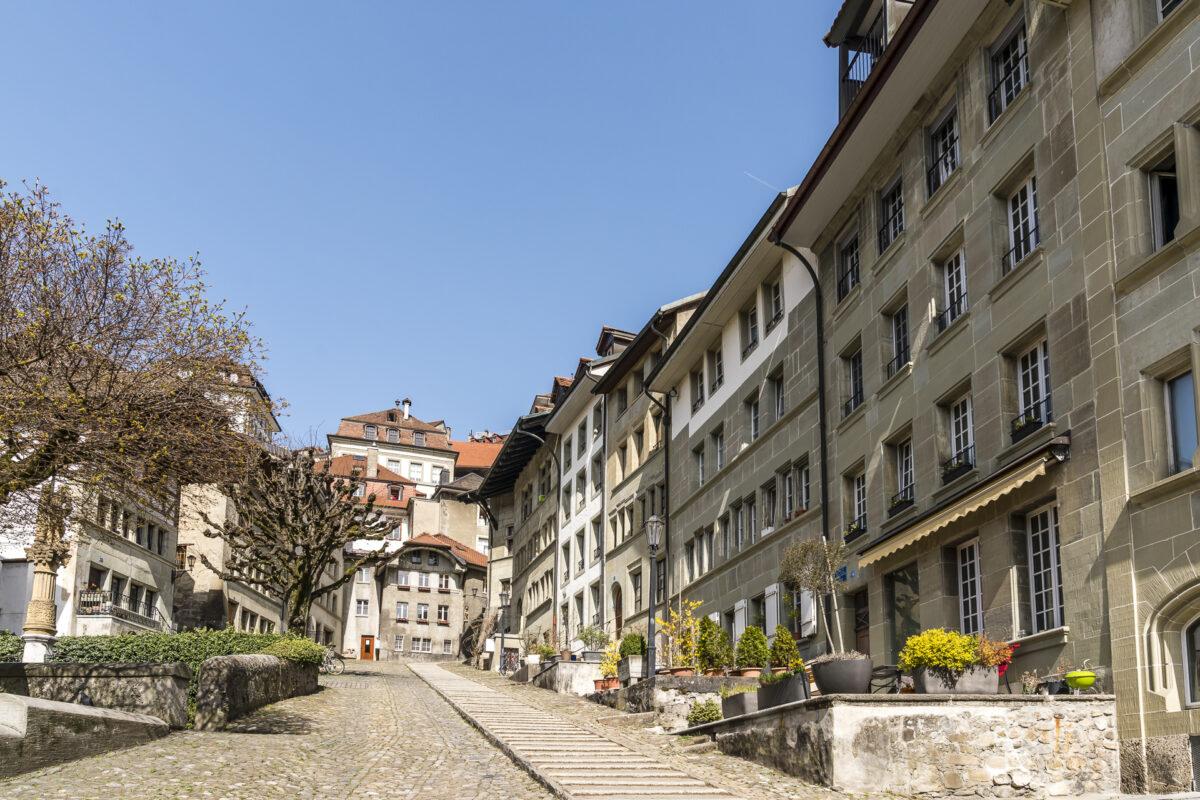 Fribourg Escalier