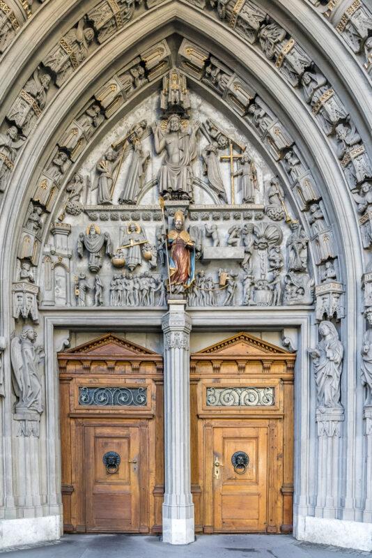 Sehenswürdigkeit Kathedrale Tor