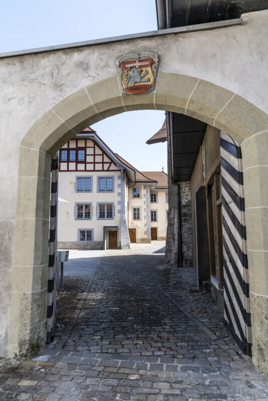 Fribourg romanische Kirche