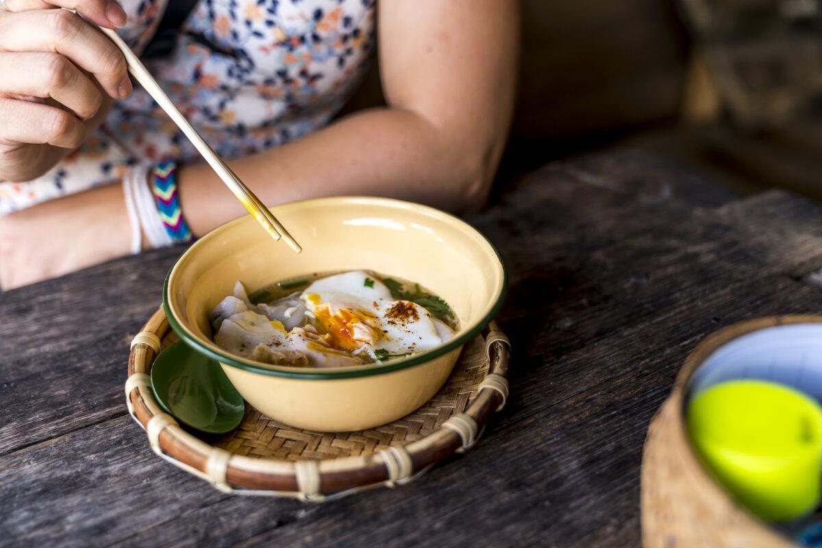 Khao Peop local soup