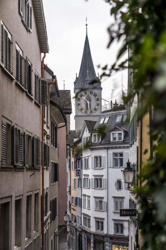 Krimitrail Zürich Gassen