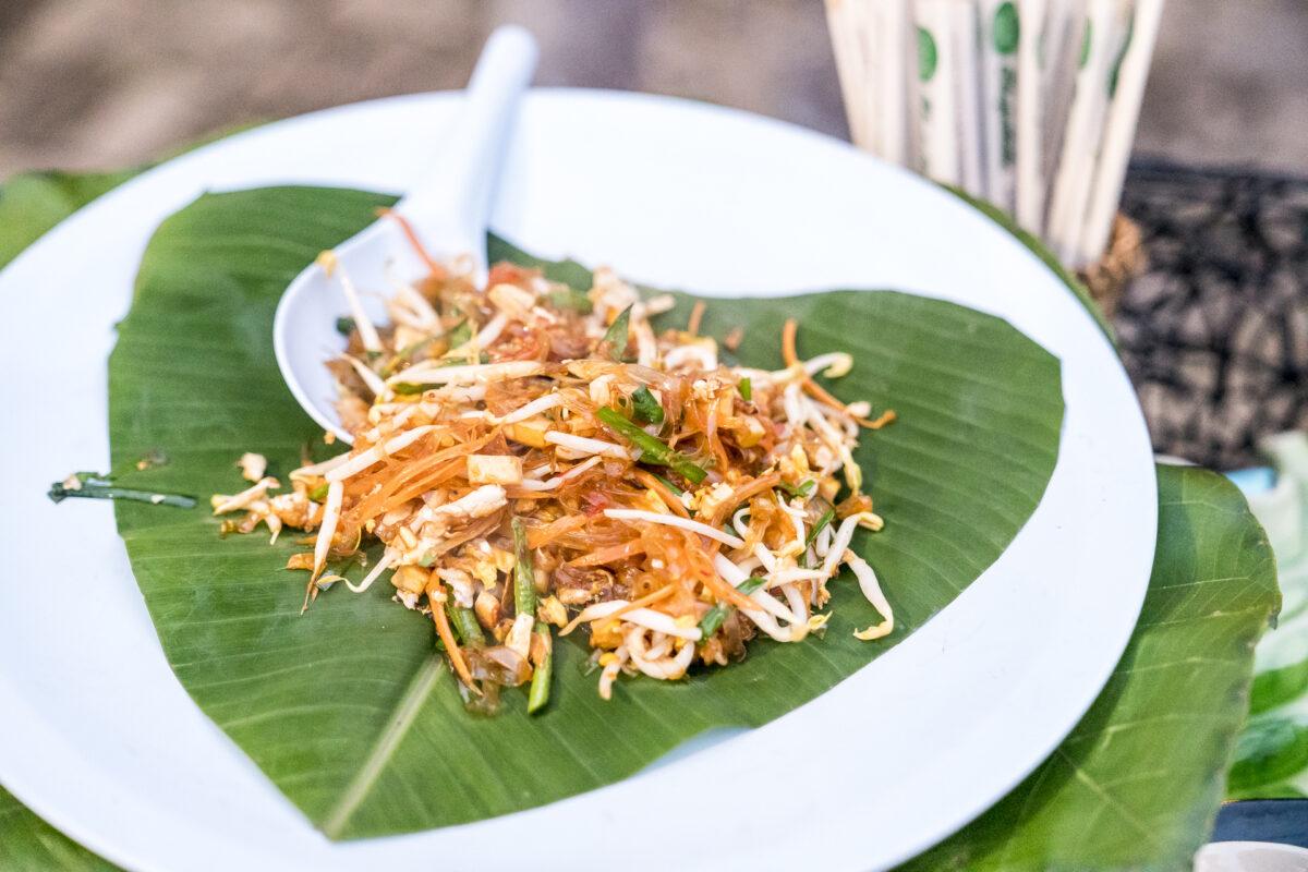 Pad Thai mit viel Gemüse