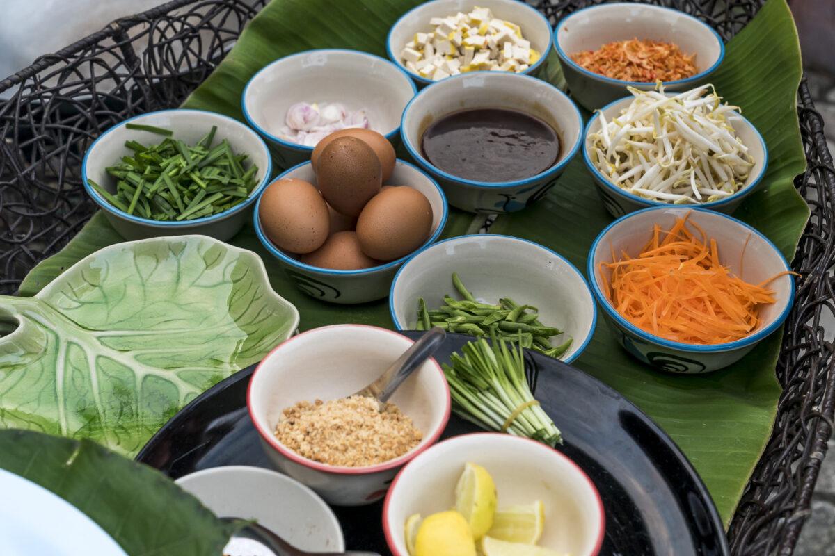 Pad Thai Zutaten