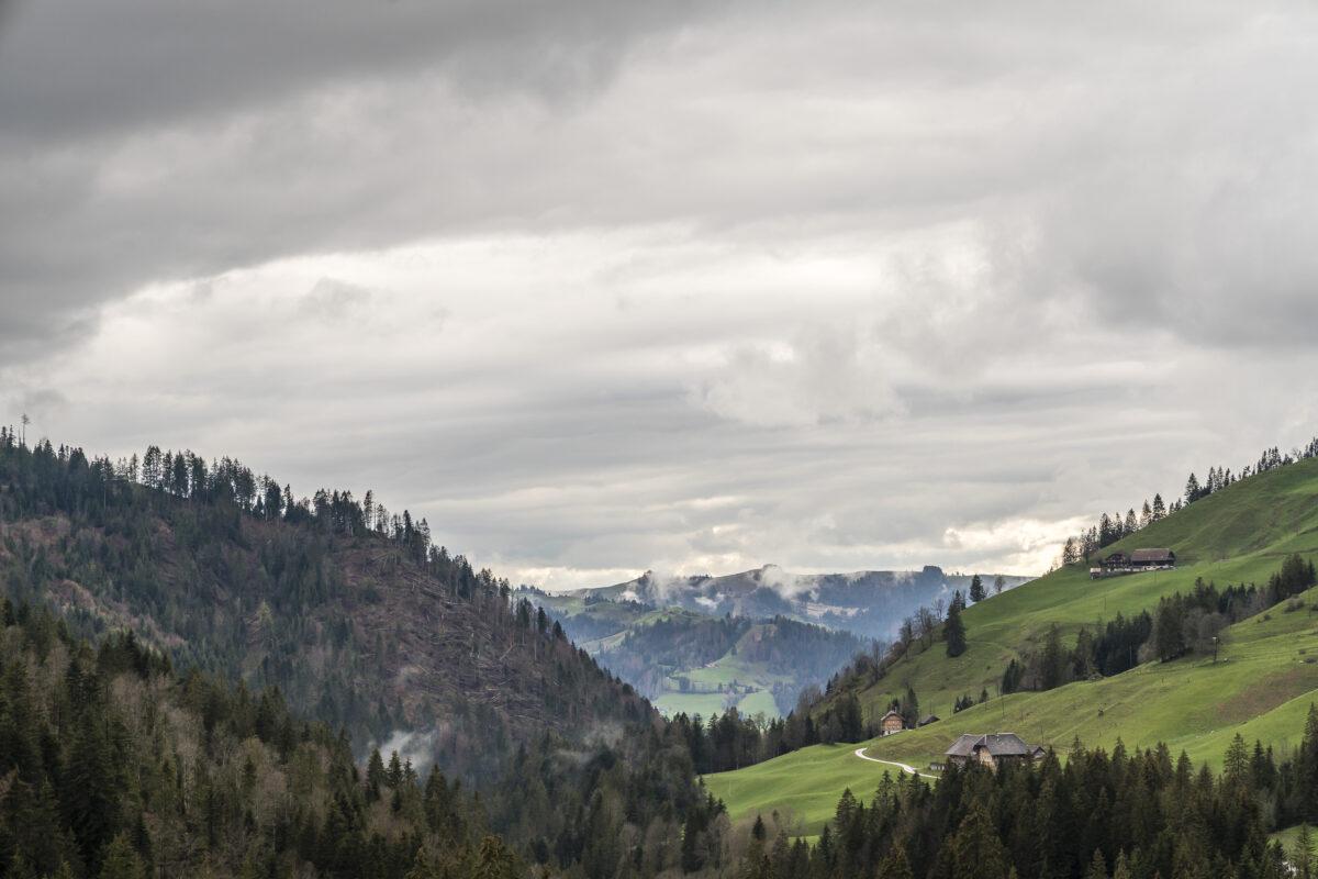 Marbach Regenwetter