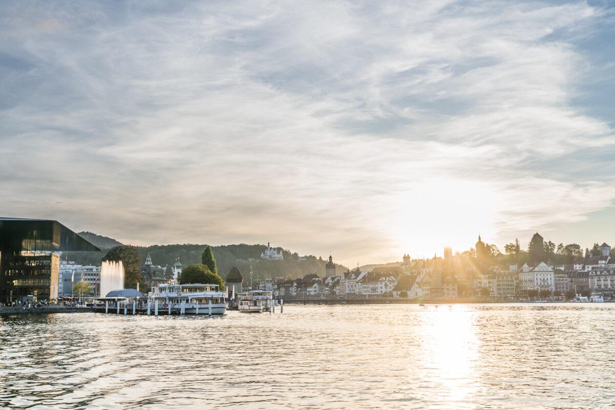 Sonnenuntergang Luzern