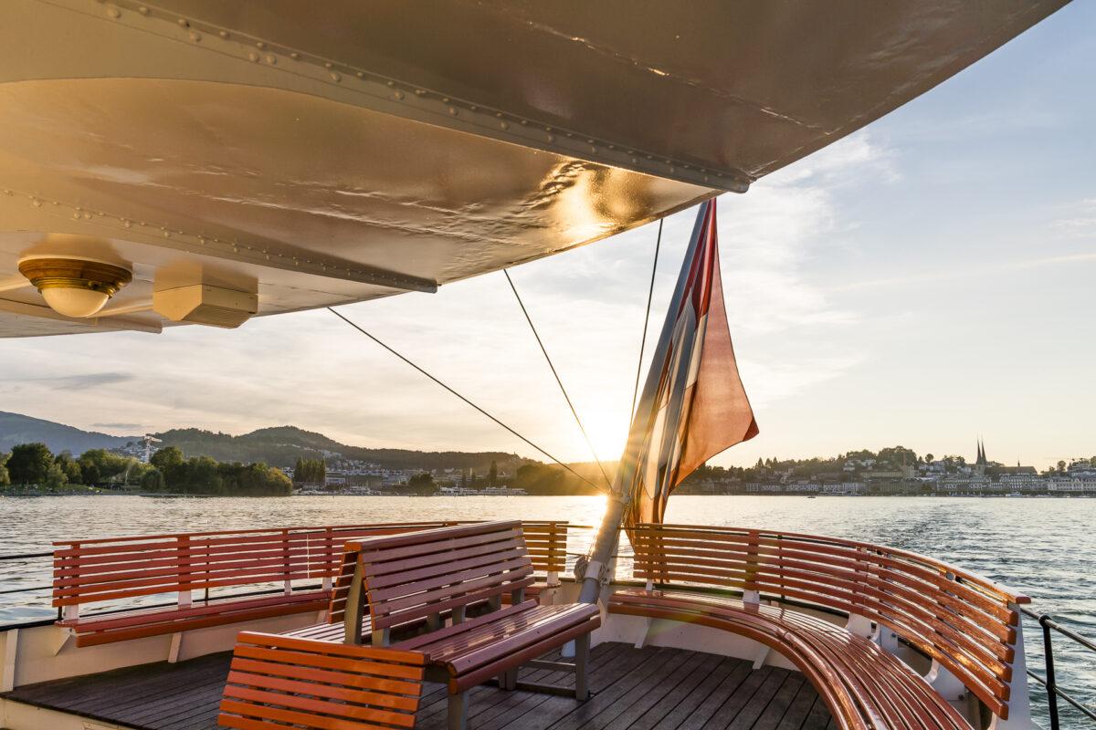 Luzern Abendrundfahrt Schiff