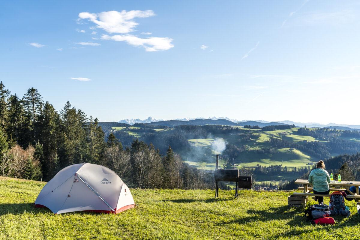 Nomady Camp Susanne und Boris