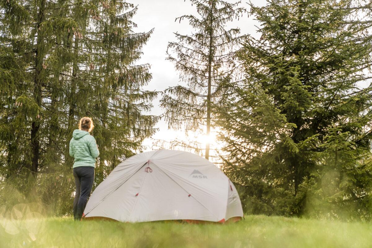 Hinter den Schratten Camping
