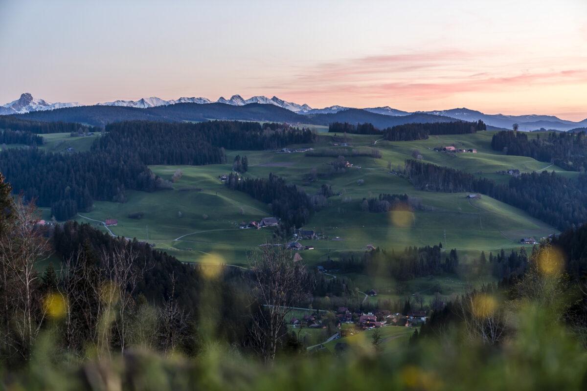 Aussicht Brügglen Langnau