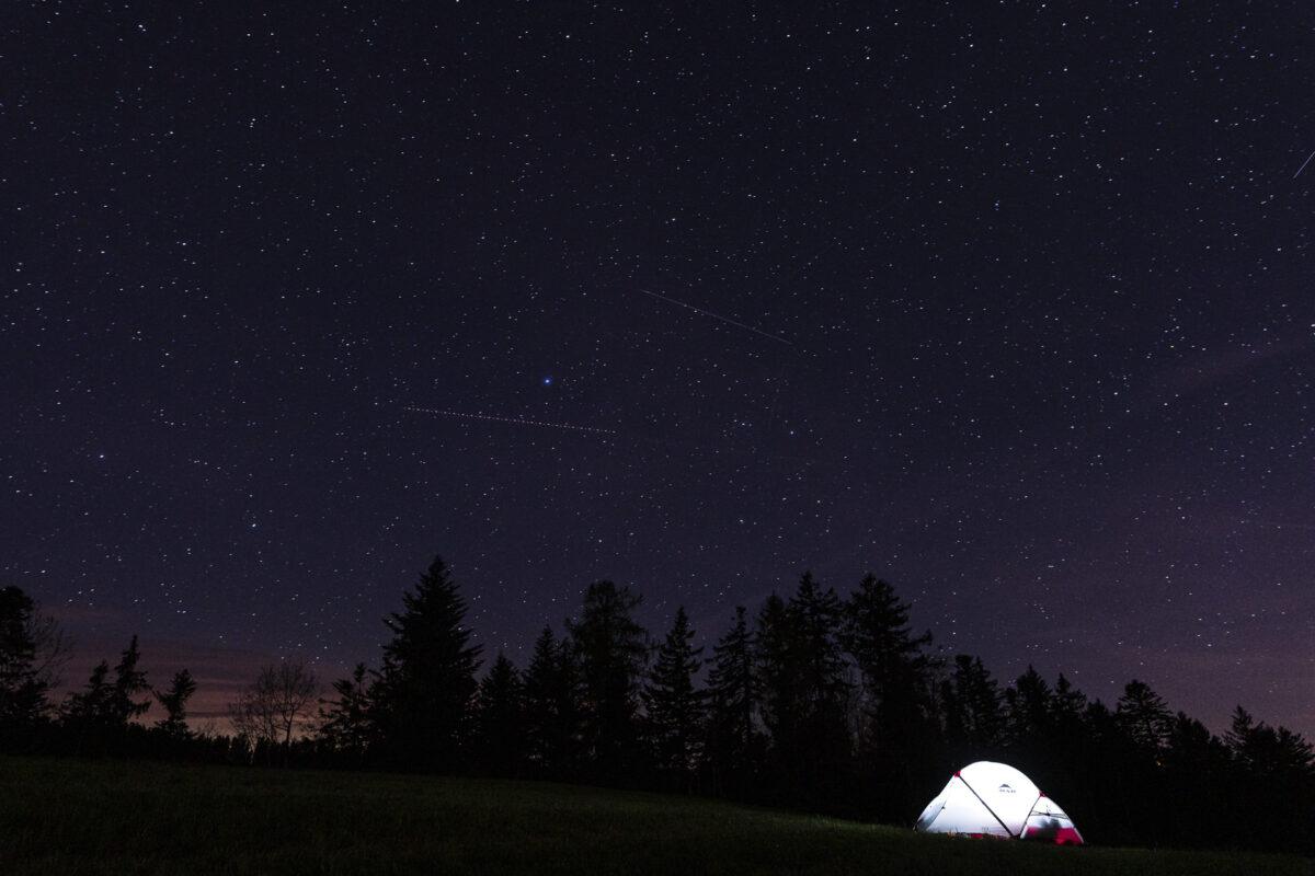 Camping Sternenhimmel