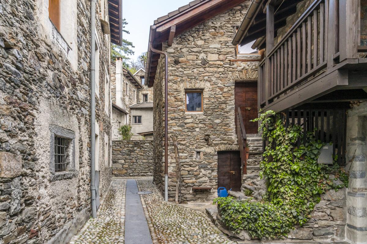 Arcegno Monte Verita Dorf