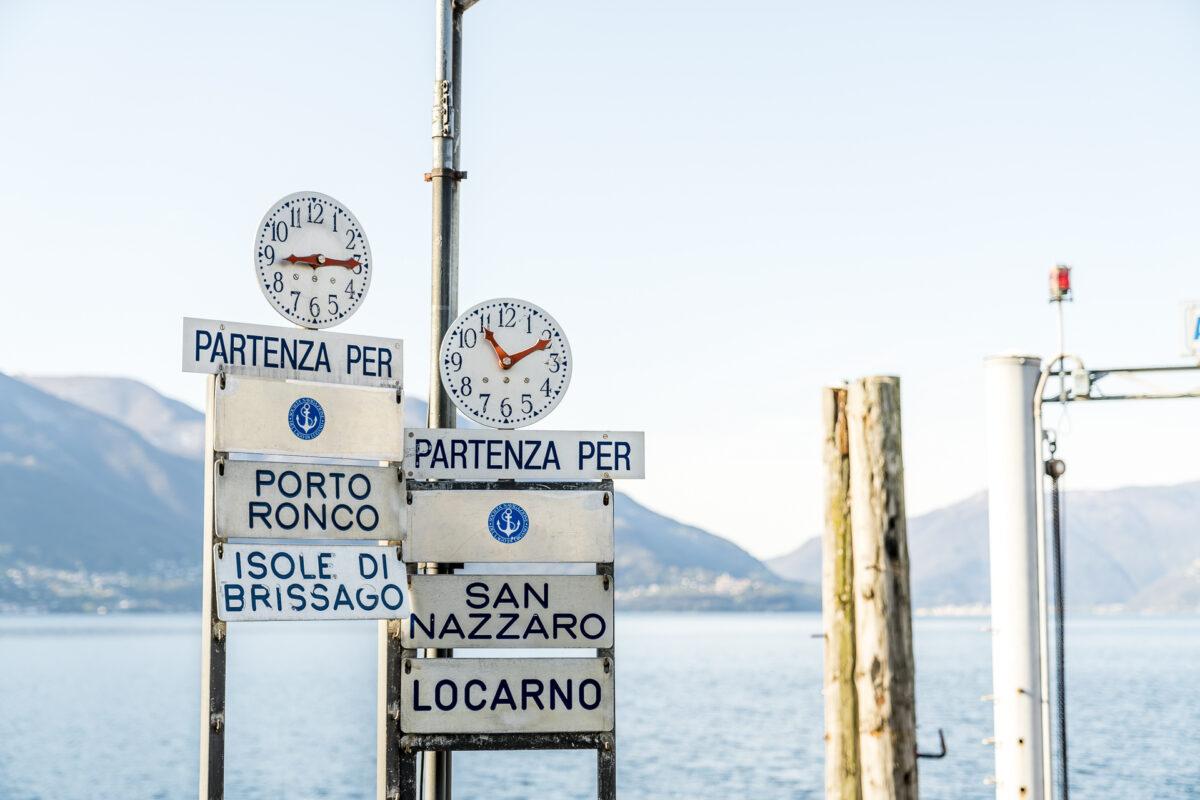 Ascona Schiffanlegestelle