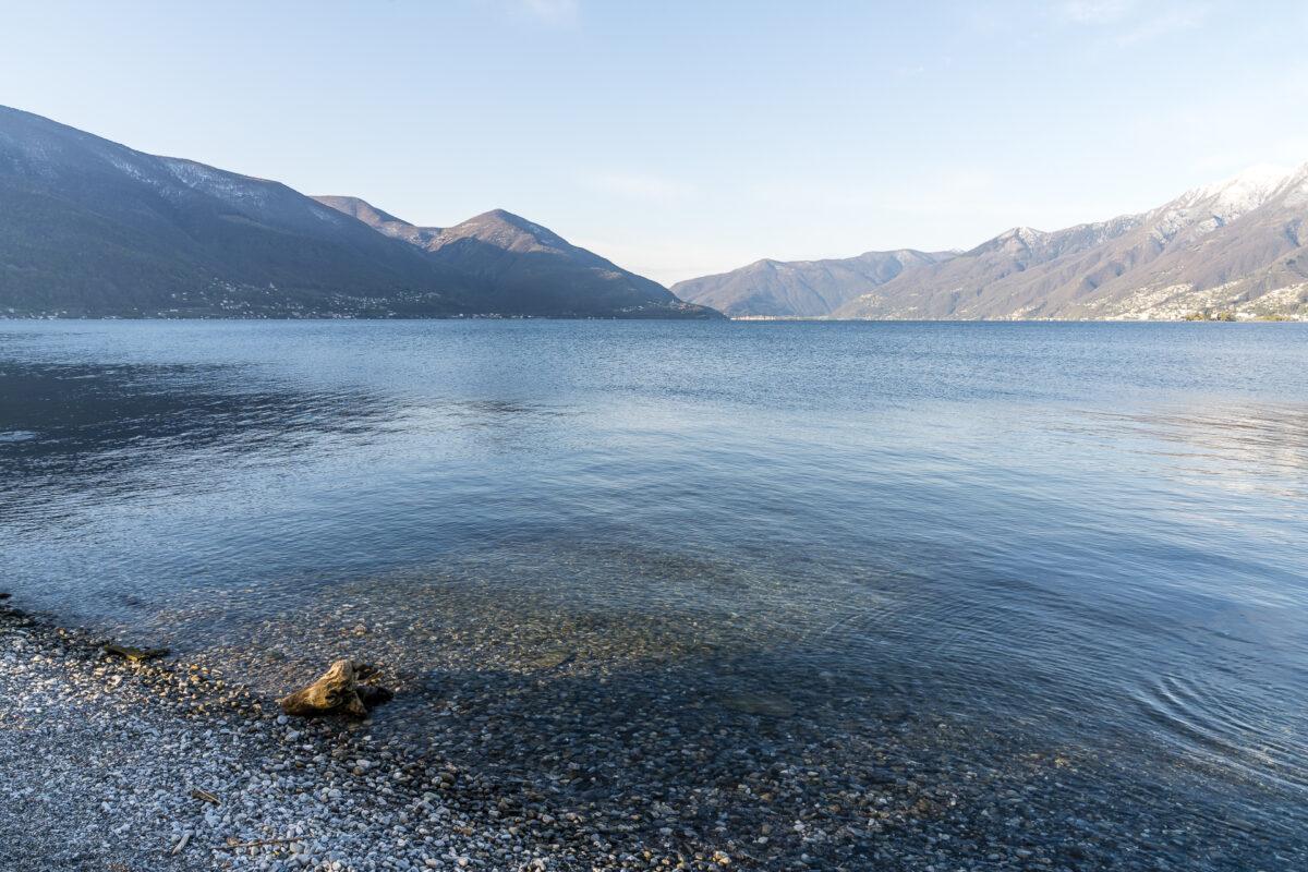 Lago Maggiore Strand Eden Roc