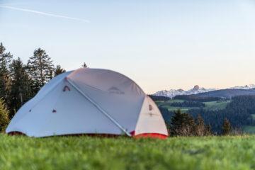 Mit dem Zelt rund um den Napf: diese schönen Plätze erwarten dich