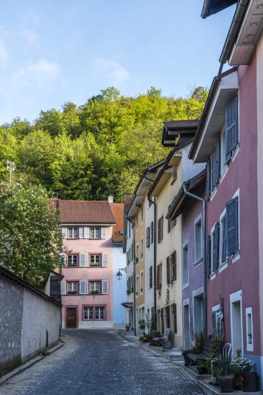 Saint-Ursanne Altstadt