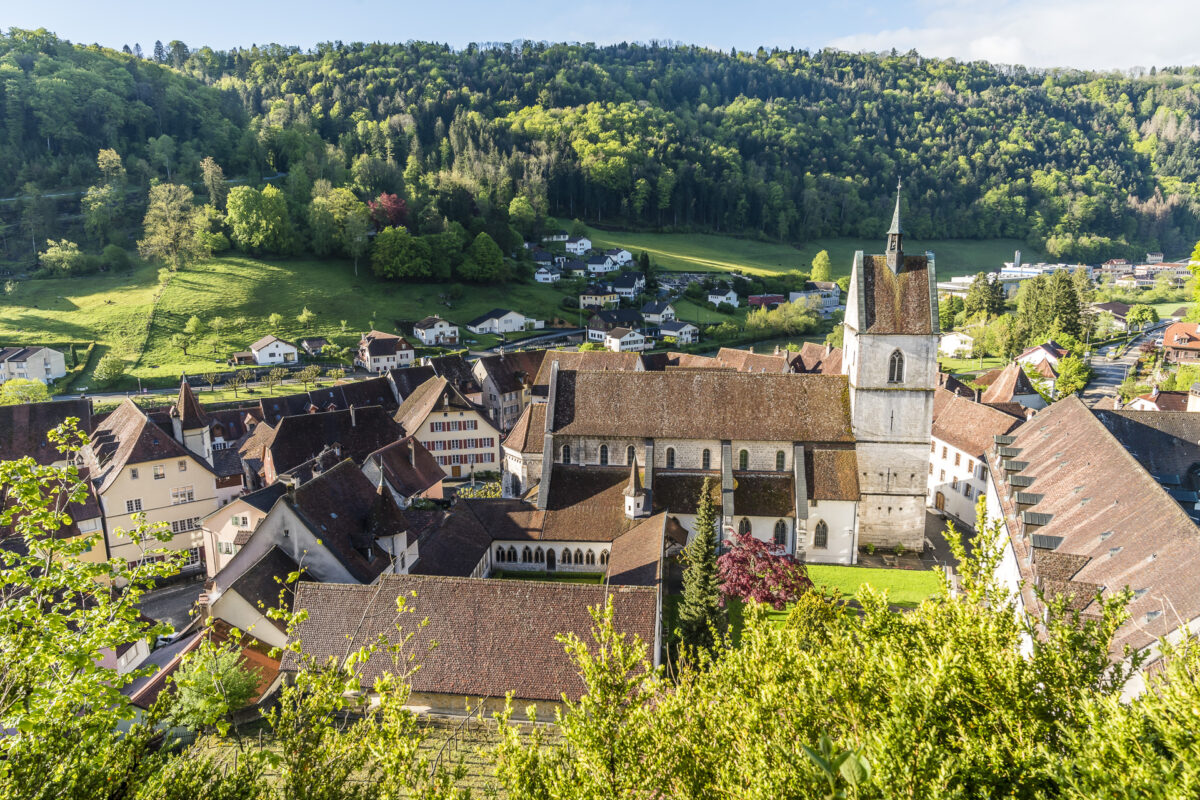 Aussicht über Saint-Ursanne