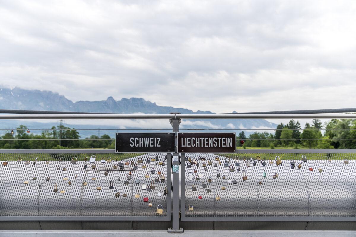 Grenze Schweiz Liechtenstein