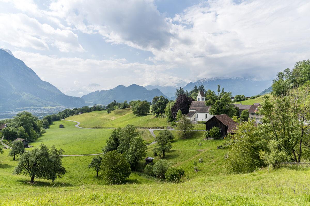 Gretschins Rheintal