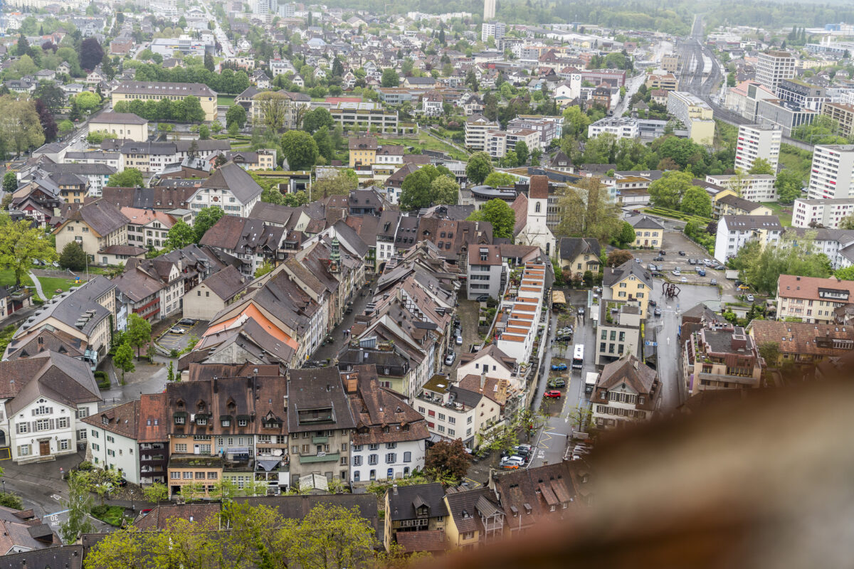 Panorama Altstadt Lenzburg