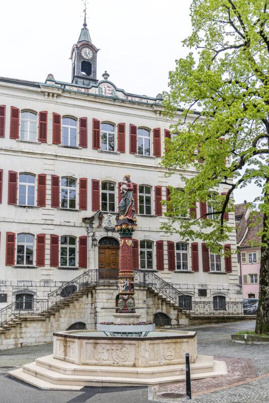 Delémont Altstadt
