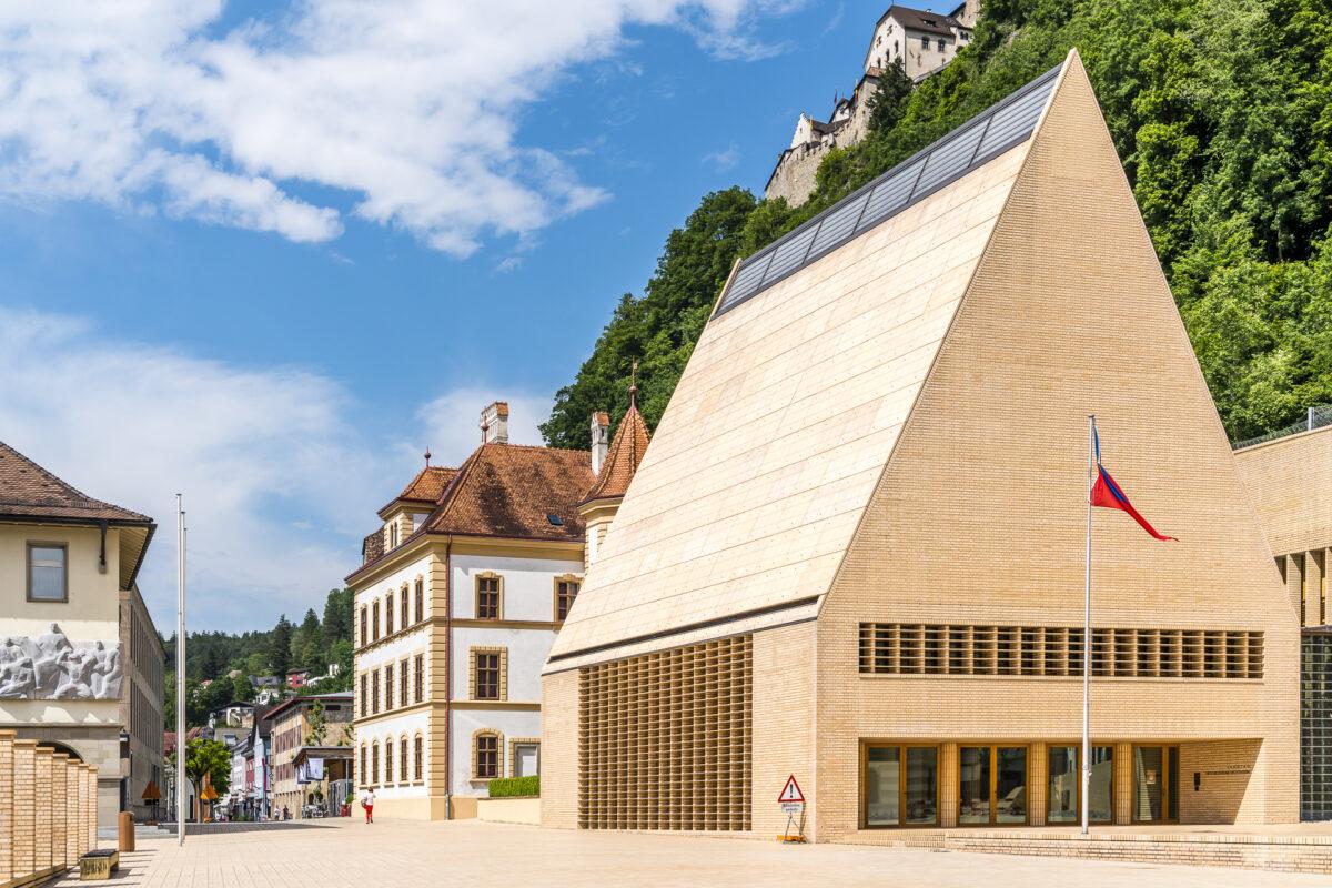 Landtagshaus Liechtenstein Vaduz
