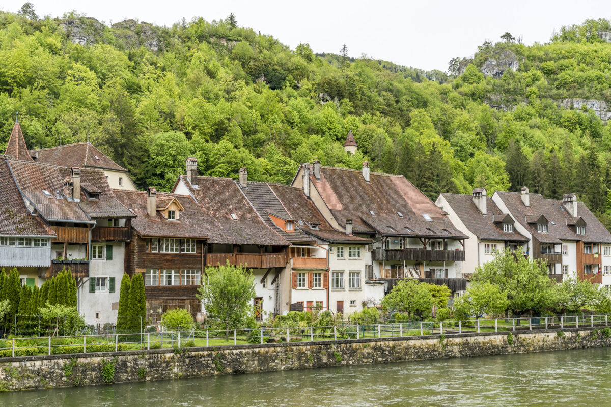 Saint Ursanne Jura