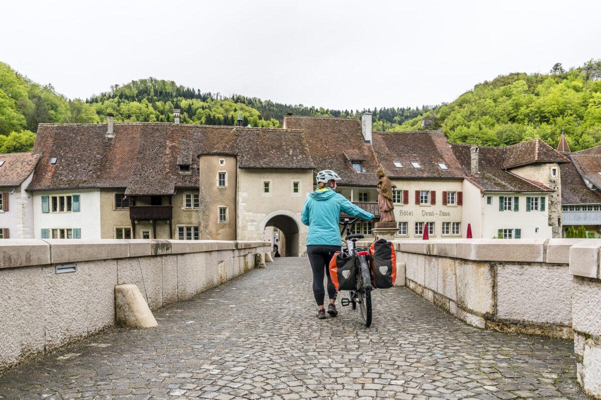 Saint-Ursanne Veloweg