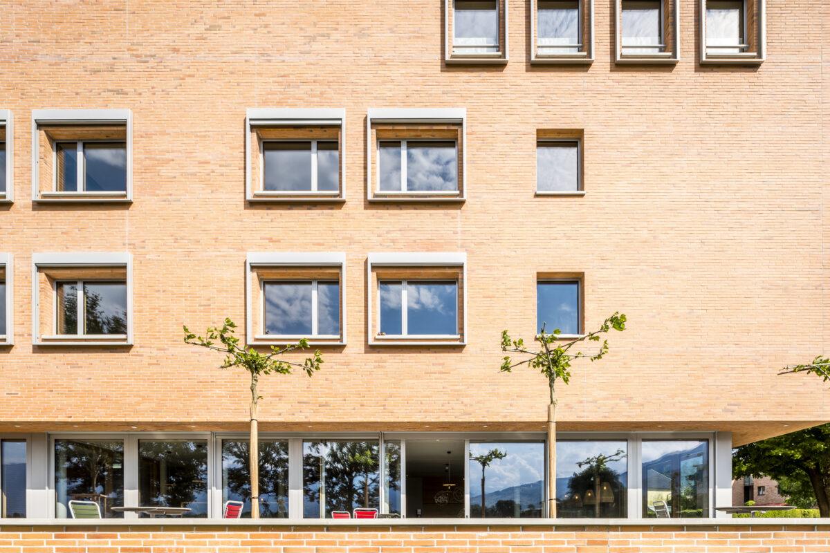 Fassade der Jugendherberge Schaan