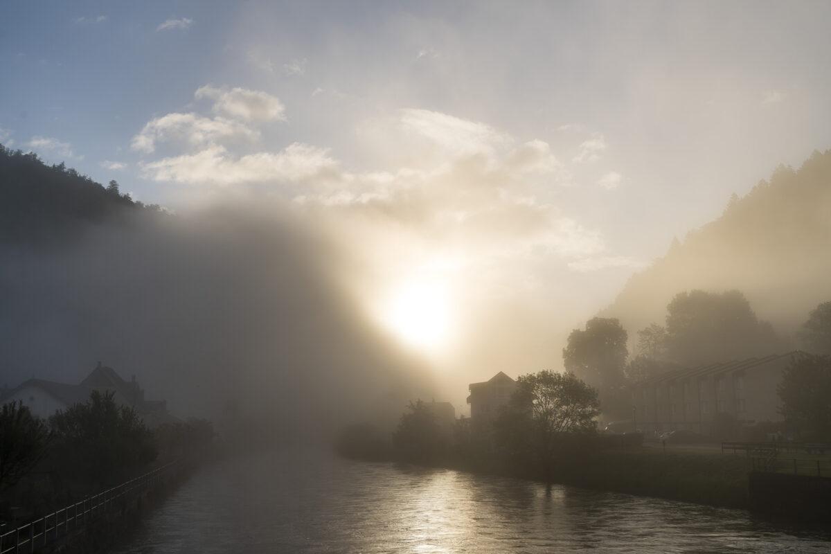Morgenstimmung am Doubs