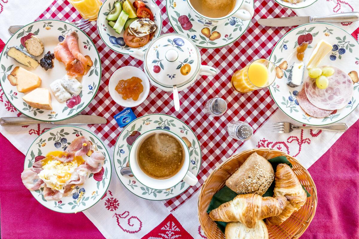 Frühstück Angerer Alm